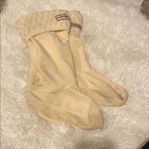 Hunter boots insert socks